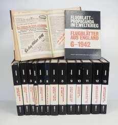 Kirchner, Klaus: flight leaves in 13 volumes plus. Documents volumes.