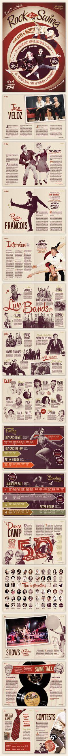 #brochure #vintage #retro #lindyhop #swing #rocktha swing #munich #micheletenaglia