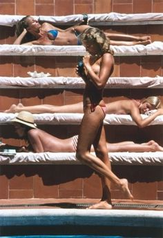 Canvases - Shop - Slim Aarons - Surface View #women #print #photography #vintage