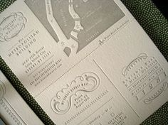 Hello | The Indigo Bunting: invitations #design #graphic