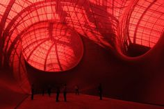 In Paris, Anish Kapoor Unveils Giant Rubber Balls You Can Walk In | Co.Design #public #installation #inflatable #kapoor #art #anish