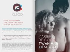 KLICQ Photography Duo [unfinished] on the Behance Network #branding #design #book #photography #logo #layout #arsenal