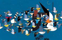 Animalarium: Sunday Safari – Modern birds - Charley Harper