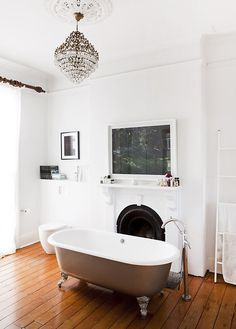 bathroom via the design files