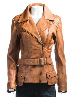 Here is amazing #leatheroutfit for women, made with #realleather, defining a #uniquestyle of the coat with attractive #tanbrown color, and belt attachment at the waist. Buy now at an exclusive price for the winter. http://bit.ly/2kVRyGr #winterfashion #womenfashion #love #insta #trend #leatherjacket #womenjacket #coat #jacketcoat