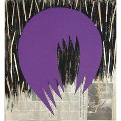 Artspace: Inspace Trade Program #print #contemporary #figurative #purple #art #collage