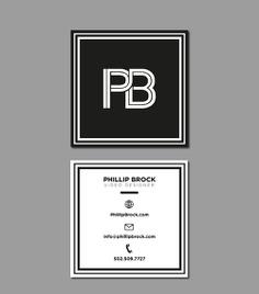 PB brand identity design by Orimat #business #card #cards #pb #designbyorimat