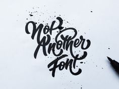 Hand drawn typography logo by Jenna Bresnahan #logo #logotype #handdrawntype #customtype #typography #handtype