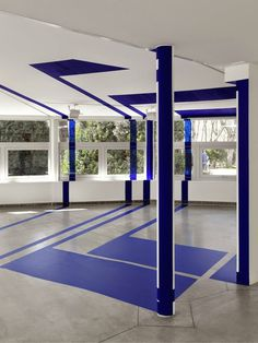 Optical Illusions: Felice Varini #varini #felice #optical #illusions