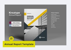 Kreatype Annual Report by By Kreatype Studio