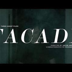 #film #movie #titledesign #layout #jacobardenmcclure #artfilm #dark #facade #graphicdesign #artinstallation #insperation #photography #arden