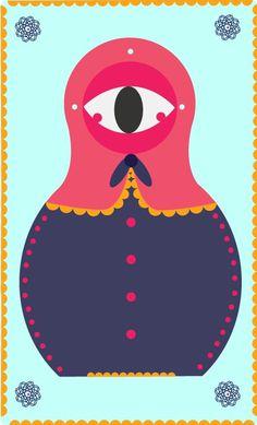 mat eye on the Behance Network #illustration #colors #eye #digital