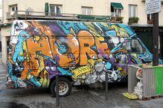 Horfe #graffiti #paris #horfe