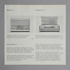 Braun G 11 / G 12 pamphlet 1956 via www.dasprogramm.org