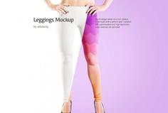 Layered Leggings Mockup PSD