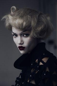 Reverse - Charlotte Carey by Dennis Stenild #stenild #dennis #revs #charlotte #fashion #carey #magazine