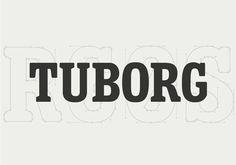 Tuborg #serif #logotype #lettering #uppercase