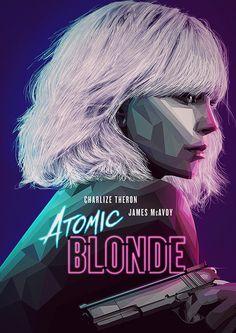 Atomic Blonde by Bernie Jezowski