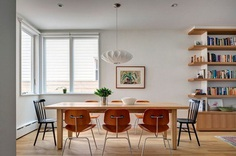 A Wood Frame Townhouse in Brooklyn Renovated by BFDO Architects 5