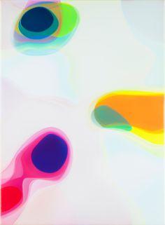 Peter Zimmermann – ovo, 2016, 150 x 110 cm, Epoxidharz auf Leinwand