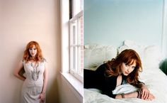 Christina Hendricks | Amanda Friedman Photography