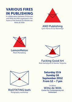v om:Event — Various Fires in Publishing #graphic