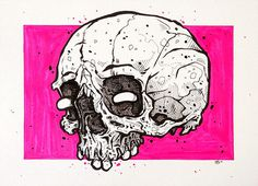 (28) Tumblr #skull