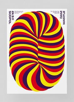 Südpol 11/12 « FEIXEN: Design by Felix Pfäffli #optical #poster #clean