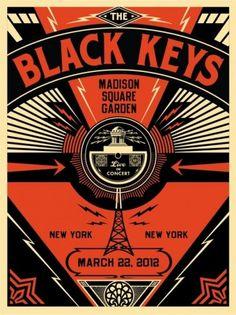 Black Keys Live - OBEY GIANT