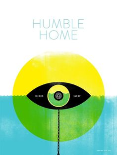 Screenprinted Posters | Joel Miller Design #print #home #illustration #humble #poster