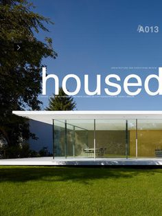 EDITION29 HOUSED 013 for iPad #ipad #design #architecture