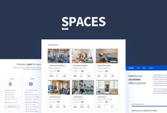 Spaces - Coworking Bootstrap 4 Template 🏢