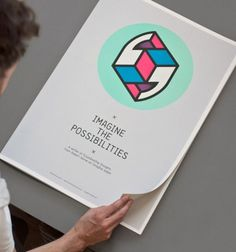 design work life » Magpie Studio: Imagine the Possibilities #design #speech #poster