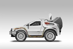 Time_machine_by_scuzzo.jpg (JPEG Image, 604 × 407 pixels) #the #back #delorean #future #to