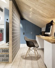 Decorating an apartment in Scandinavian style and Industrial