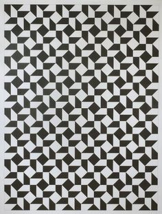X Tauba Auerbach #pattern #geometric #art