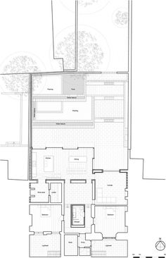 East London House by David Mikhail Architects #brick #drawings #plans #wood #architecture