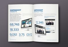 ShipInsight Media // Brochure on Behance