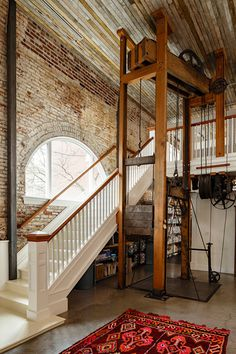 Historic Railway Building Transformed into Office by Jessica Helgerson