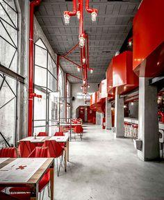 Capitan Central Brewery – Vital and Memorable Dining Space - restaurant, restaurant design, restaurant decor, retail design, #restaurant