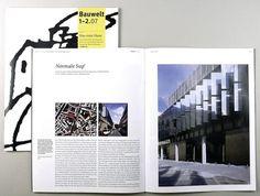 Bauwelt | Edenspiekermann #magazine