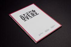 Portfolio of Luke Robertson | Over & Over #aperu #luke #design #graphic #book #robertson #catalogue #typography