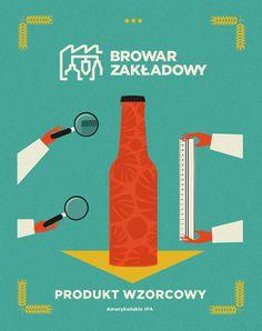 illustration, beer, design, quirky