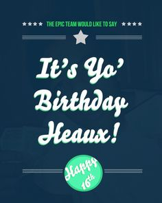 Rebekah Newby :: Random Shenanigans and Graphics #design #birthday