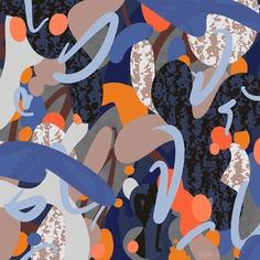 Experimental graphic pattern for key visuals designed by Andrei Robu www.andreirobu.com