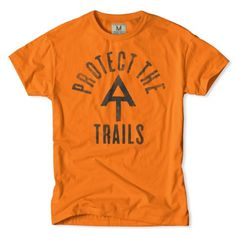 Protect the Trails T-Shirt #design #tshirt #apparel #appalachian trail