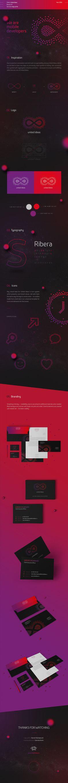 United Ideas — Mobile Developers #logodesign #identity #infinity #branding