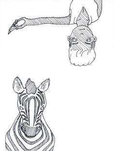 http://singyamatokun.tumblr.com/post/3448983920/animal-fiiight #illustration