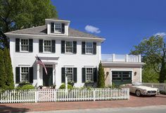 Colonial Style House Exuding Calmness by Patrick Ahearn Architect #architecture