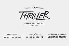 Thriller Kebab Restaurant by Kutan URAL #inspiration #design #graphic #professional #quality